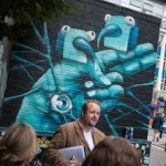 John Ryan guides in the Northern Quarter